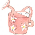 Watering can by Leyton Parker