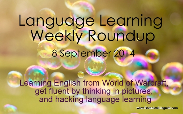 language learning roundup 8 September 2014