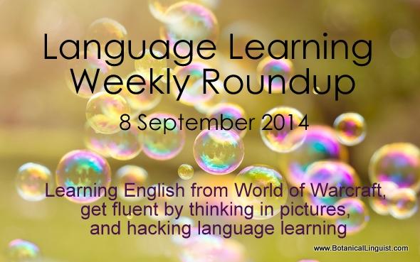 language learning roundup 8 September 2014