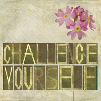 Challenge yourself image. Improve your English